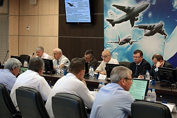 "A flight-technical conference on topic of the new IL-76TD-90A development was held in the JSC ""Aviastar-SP"""